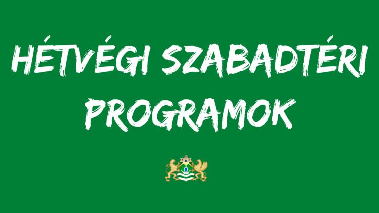 Ingyenes szabadtéri programok a július 11-12-i hétvégén