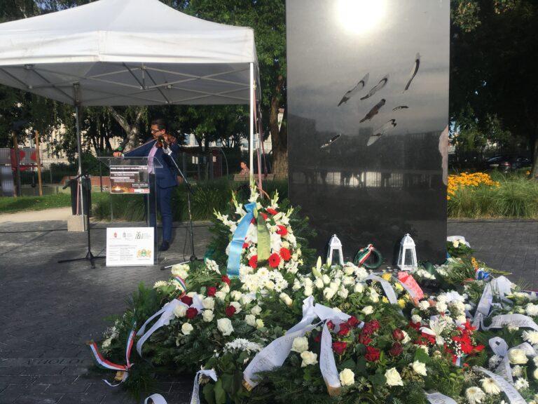 A Roma Holokauszt Emléknapja Ferencvárosban
